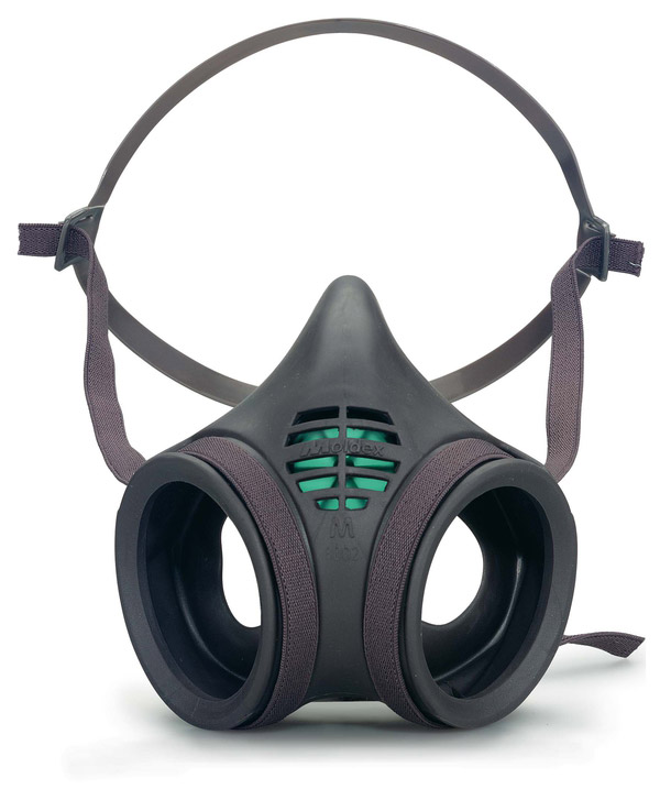 MOLDEX 8002 MASK BODY TWIN FILTER - M8002