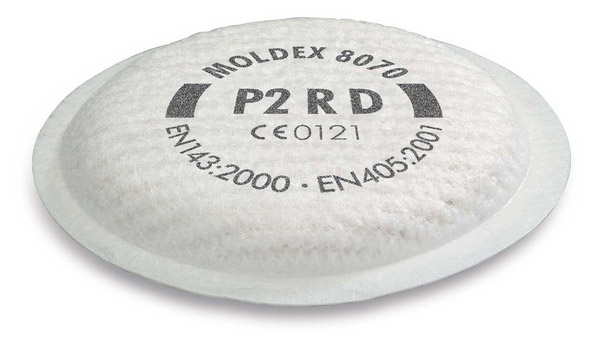 MOLDEX 8070 PARTICULATE FILTER P2RD - M8070