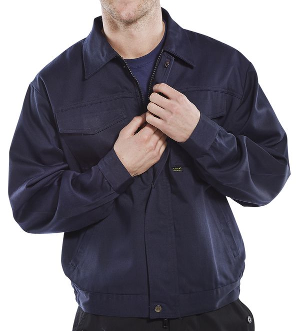 HEAVYWEIGHT DRIVERS JACKET - PCJ9N