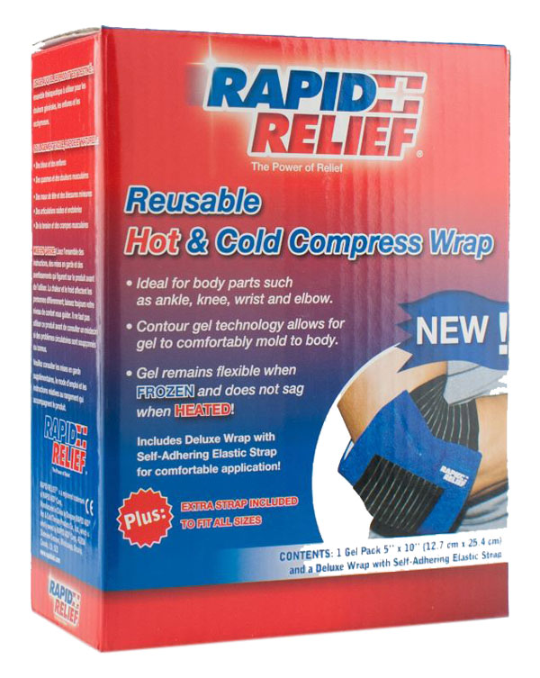 UNIVERSAL REUSABLE HOT/COLD COMPRESS WRAP 5