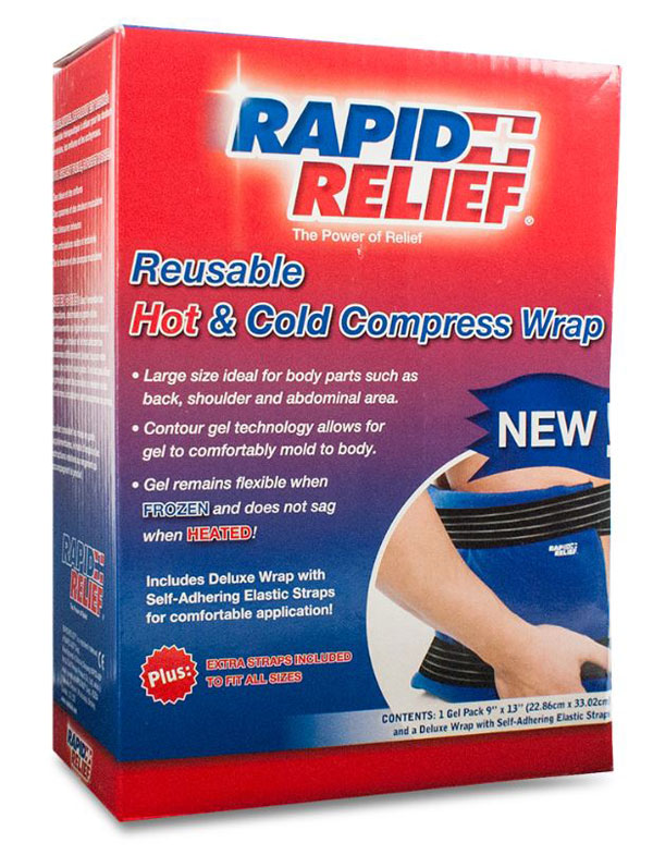 DELUXE REUSABLE HOT/COLD COMPRESS WRAP 9