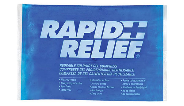 REUSABLE HOT/COLD GEL COMPRESS C/W CONTOUR GEL 4