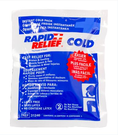 INSTANT COLD PACK SMALL 4