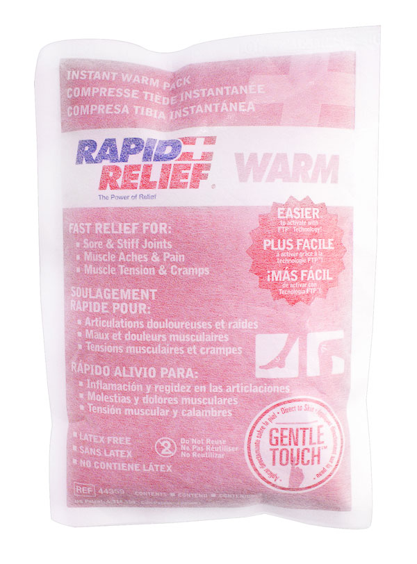 INSTANT WARM PACK C/W GENTLE TOUCH TECHNOLOGY LARGE 5