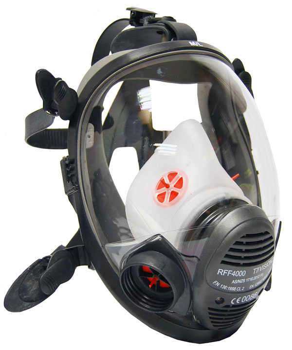RFF4000 VISION FULL FACE MASK - RKRFF4000