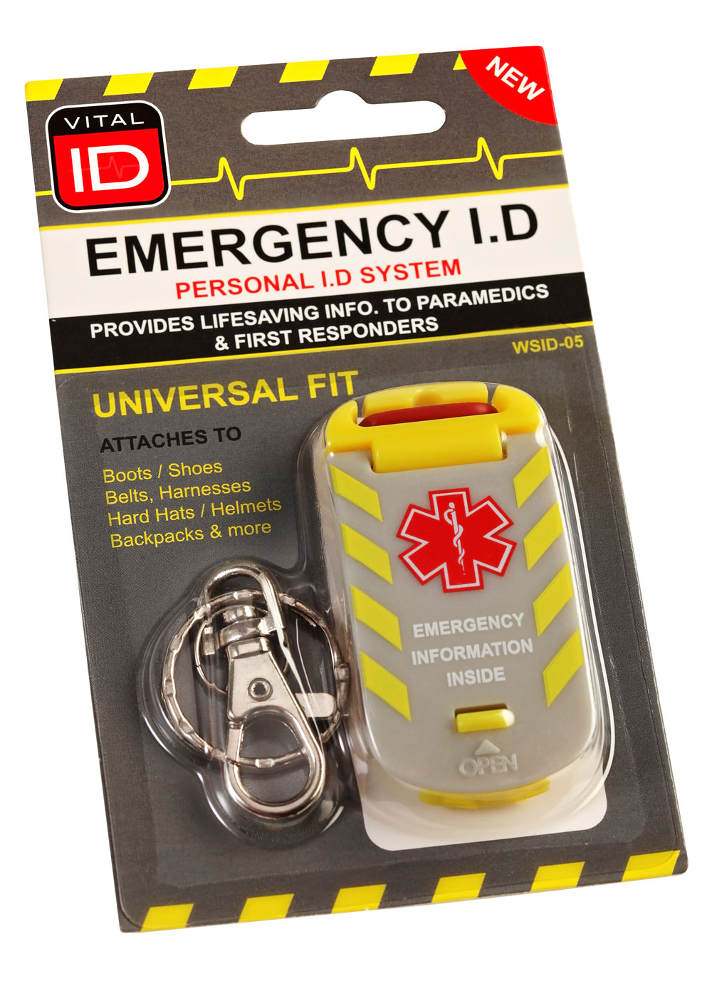 EMERGENCY ID UNIVERSAL FIT TAG - WSID05