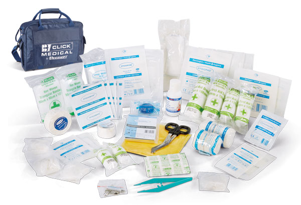 TEAM FIRST AID KIT IN SPORTS BAG - CM0062