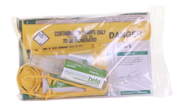 1 APPLICATION SHARPS HANDLING KIT - CM0611