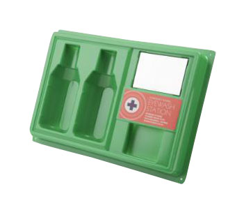 CLICK MEDICAL EMPTY EYEWASH STATION - CM0711