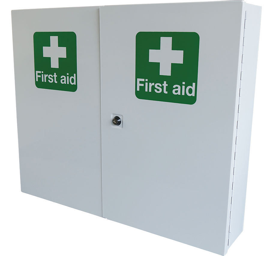 first aid cabinet cm1121 door metal aid cabinet beeswift 15455