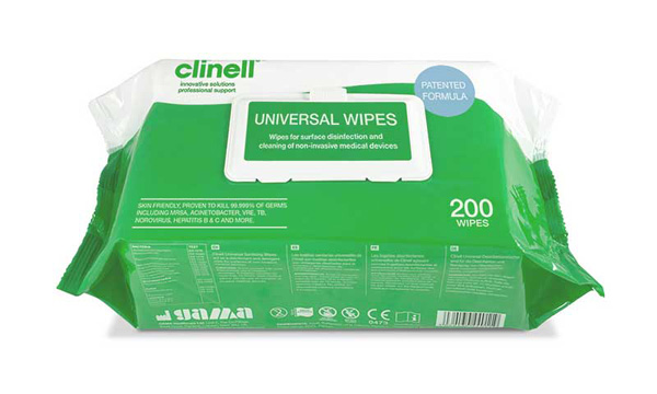 CLINELL UNIVERSAL WIPES - CM1902