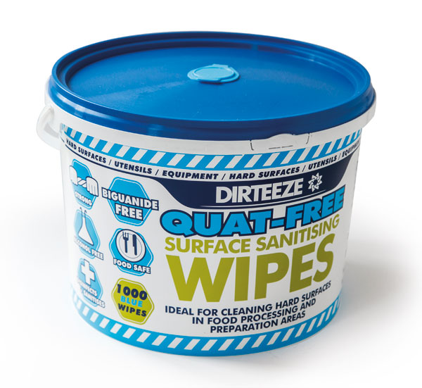 ANTI-BACTERIAL WIPES (BUCKET)  - DZAB1000
