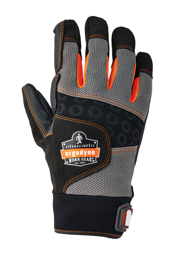 ERGODYNE FULL FINGER ANTI VIBRATION GLOVE - EY9002