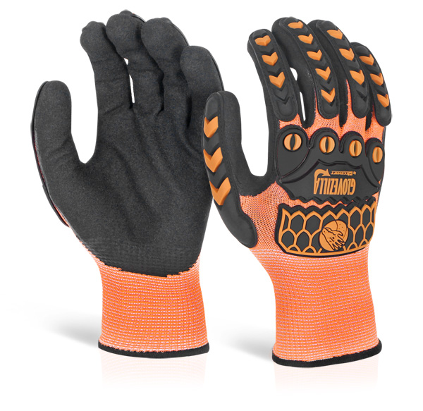 GLOVEZILLA SANDY NITRILE COATED GLOVE - GZ63