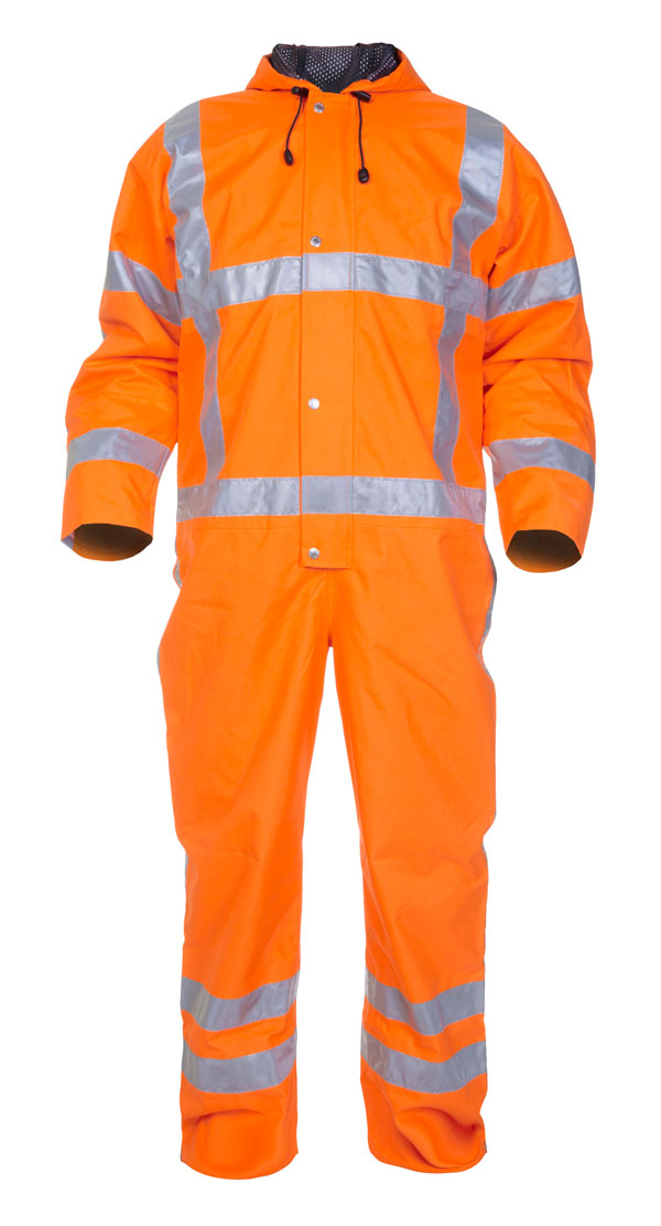 URETERP SNS HIGH VISIBILITY WATERPROOF COVERALL - HYD072380OR