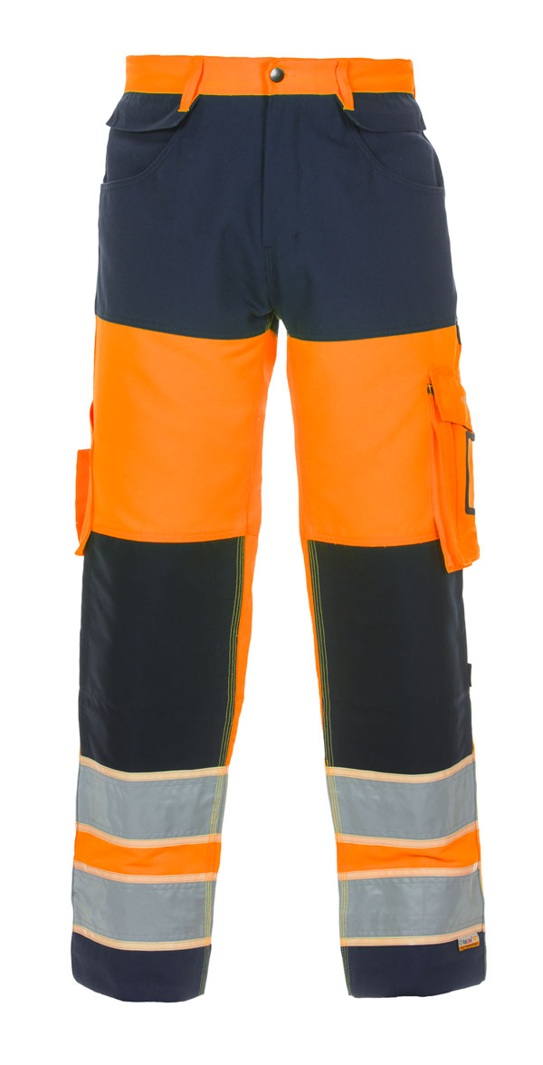 IDSTEIN HIGH VISIBILITY GID TWO TONE TROUSER - HYD131030ORN