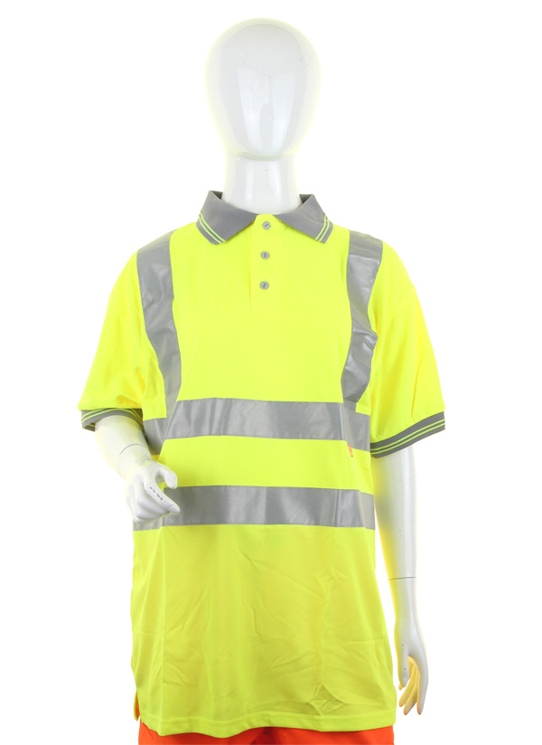 LADIES HIVIZ S/S POLO - LPK20SY