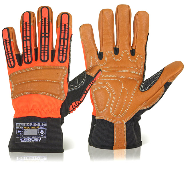 ROUGH HANDLER C5 360 MECHANICS GLOVE - MECPR-610