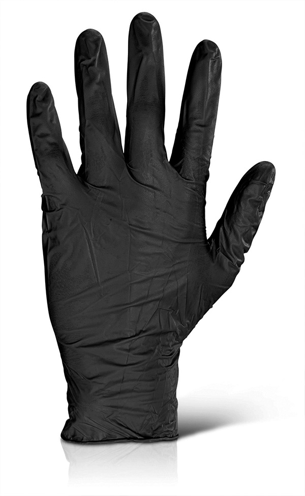 NITRILE EXAMINATION GLOVES POWDER FREE - NDGPFBL