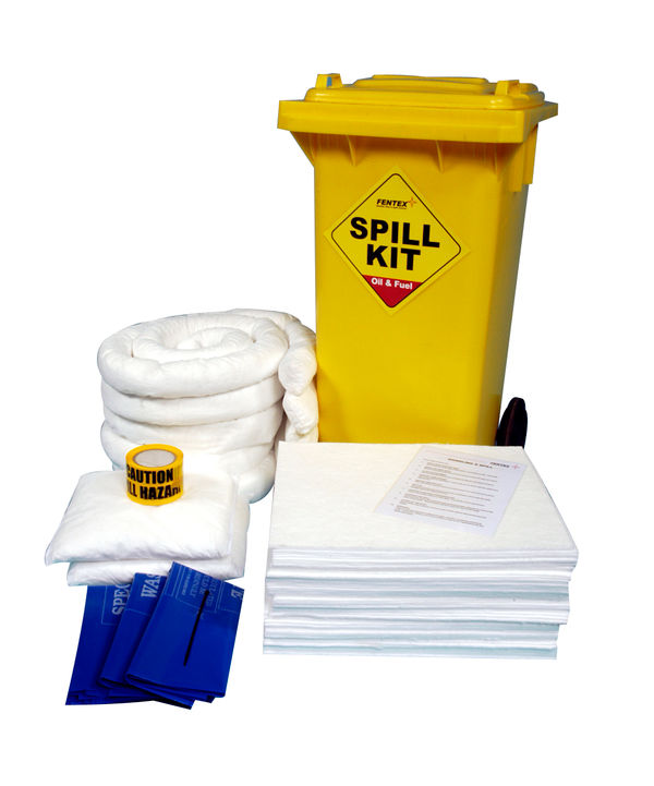 OIL & FUEL WHEELIE BIN SPILL KIT - OSKS
