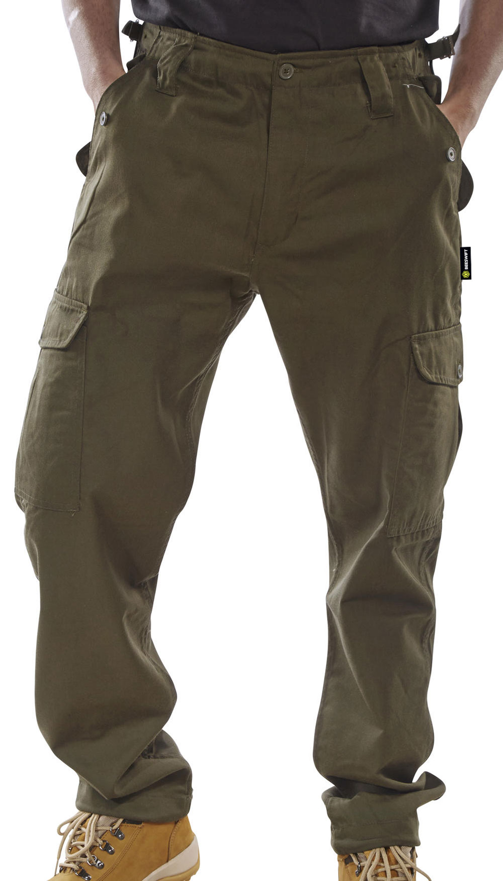 6b27028a06 PCCT - COMBAT TROUSERS OLIVE GREEN @ Beeswift, Manufacturer and ...