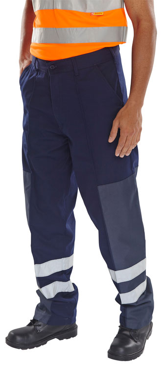 POLY COTTON NYLON PATCH TROUSERS - PCNT27N