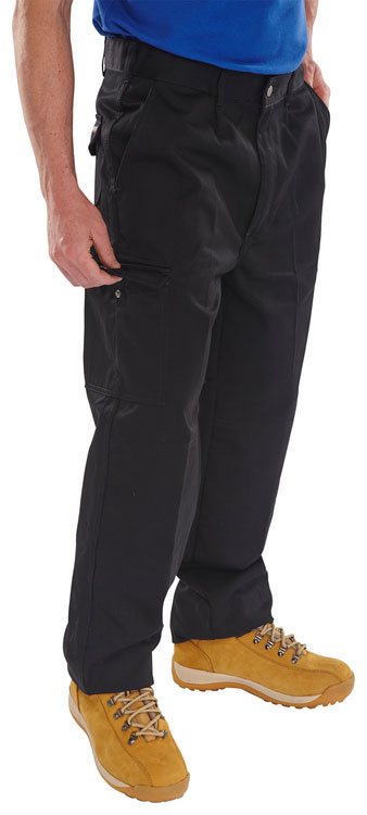 HEAVYWEIGHT DRIVERS TROUSERS - PCT9BL