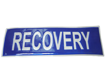 RECOVERY BADGE LARGE  - RBL