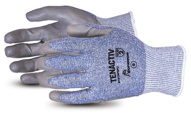TENACTIV COMPOSITE KNIT CUT-RESISTANT GLOVE WITH POLYURTHANE PALMS - SUS15TAFGPU