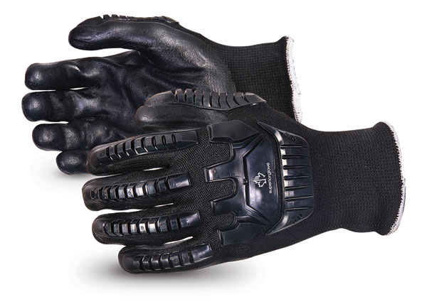 EMERALD CX® IMPACT-RESISTANT NYLON/STAINLESS-STEEL CUT-RESISTANT STRING-KNIT GLOVE - SUSKBFNTVB