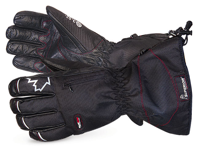 SNOWFORCE BUFFALO LEATHER PALM WINTER GLOVE  - SUSNOW385