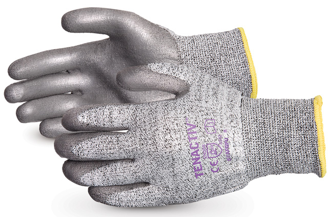 TENACTIV CUT-RESISTANT GLOVE WITH POLYURETHANE PALMS - SUS13TAGPU